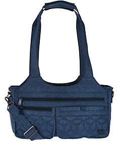 Lug East/West Shallow Handbag -Streetcar