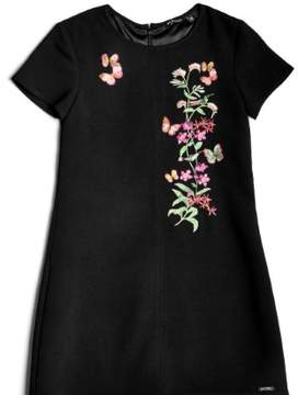 GUESS Girl's Butterfly Emboridered Dress (7-18)