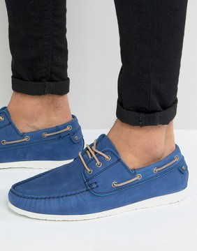 Dune Belize Suede Boat Shoes