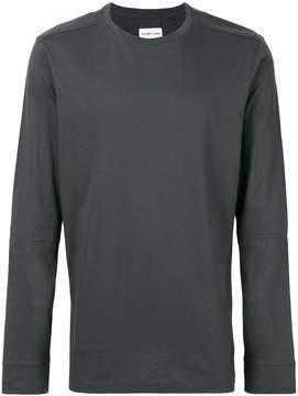 Helmut Lang arm slit sweatshirt