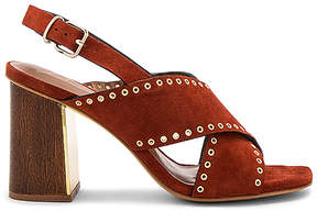 Lola Cruz Cross Front Heel