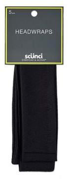 Scunci 4.5cm Interlock Headwraps - 5pk