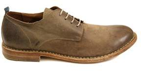Moma Men's Brown Leather Lace-up Shoes.