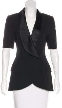 Christian Dior Structured Short Sleeve Jacket