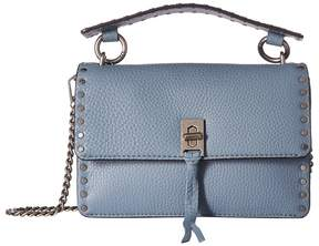 Rebecca Minkoff Darren Top-Handle Flap Crossbody Handbags - DUSTY BLUE - STYLE