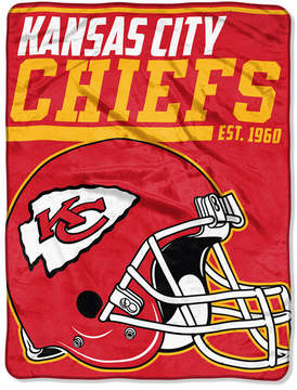 Northwest Company Kansas City Chiefs Micro Raschel 40 Yard Dash Blanket