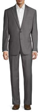 Lauren Ralph Lauren Birdseye Slim-Fit Wool Suit