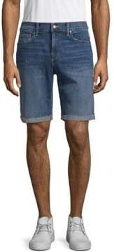 Joe's Jeans Frayed Denim Shorts