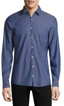 Strellson Samias Cotton Casual Button-Down Shirt