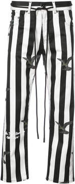 Off-White striped trousers