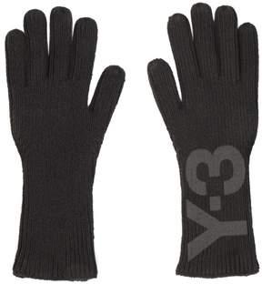Y-3 Logo Wool Gloves