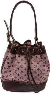 Louis Vuitton Bucket cloth handbag - RED - STYLE