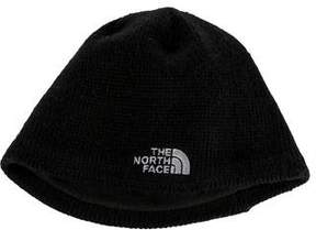 The North Face Rib Knit Logo Beanie