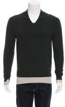 Balenciaga Layered Wool Sweater