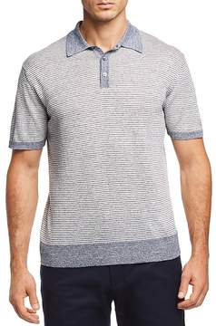 Bloomingdale's The Men's Store at Striped Knit Polo Shirt - 100% Exclusive