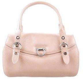 Salvatore Ferragamo Metallic Handle Bag