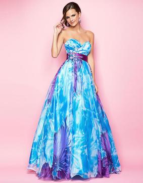 Blush Lingerie Stylish Sweetheart A-Line Dress 5203