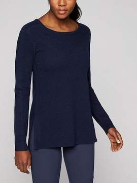 Athleta Thermal Honeycomb Sweater