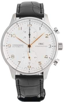 IWC Portuguese IW371445 Chronograph Stainless Steel Mens Watch