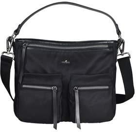 Hogan Women's Kbw00xr1200ikvb999 Black Fabric Shoulder Bag.