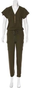 Barneys New York Barney's New York Short Sleeve Jumpsuit