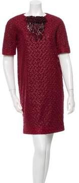 Maurizio Pecoraro Embroidered Shift Dress
