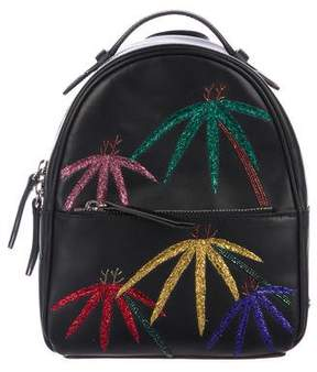 Les Petits Joueurs 2018 Baby Mick Palms Embroidered Backpack