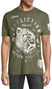 Affliction Men's Graphic Crewneck Tee