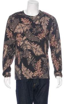 Dries Van Noten Leaf Print Sweatshirt