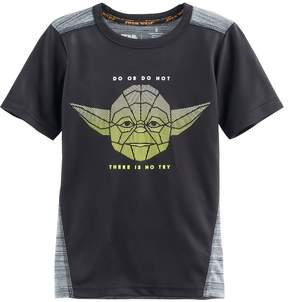 Disney Boys 4-7x Star Wars a Collection for Kohl's Yoda Do Or Do Not There Is No Try Graphic Tee