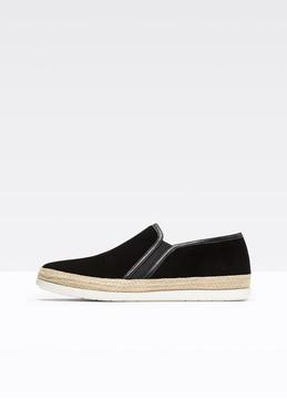 Vince Acker Suede Sneaker
