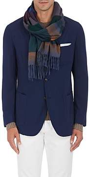 Barneys New York Men's Striped Cashmere Scarf