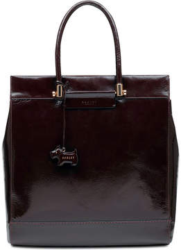 Radley London Treen Manor Crinkle Patent Leather Tote