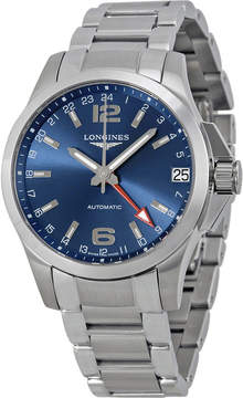 Longines Conquest GMT Automatic Blue Dial Men's Watch