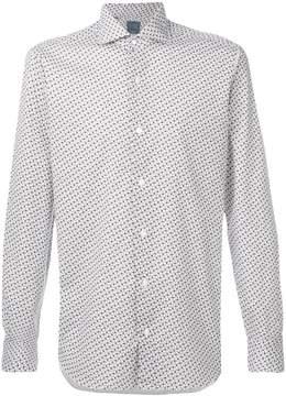 Barba floral print shirt