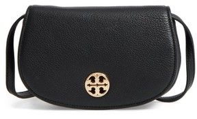 Tory Burch Mini Jamie Leather Crossbody Bag - Black - BLACK - STYLE