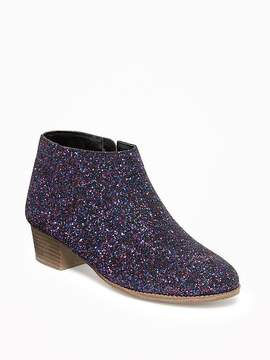Old Navy Glitter Ankle Boots for Girls