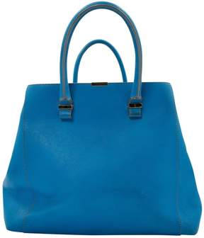 Victoria Beckham Blue Leather Handbag