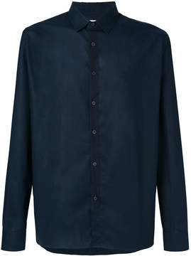 Mauro Grifoni textured-placket shirt
