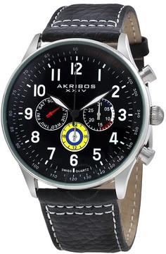 Akribos XXIV Silver-tone Alloy Men's Watch