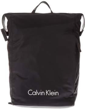 Calvin Klein Black Nylon Backpack