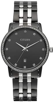 Citizen Men's Crystal Two Tone Stainless Steel Watch - BI5037-52E
