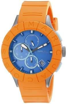 Marc Jacobs Marc by Buzz Track MBM5545 Orange/Blue Analog Quartz Mens Watch