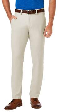 Haggar Men's Cool 18® PRO Slim-Fit Wrinkle-Free Flat-Front Super Flex Waist Pants
