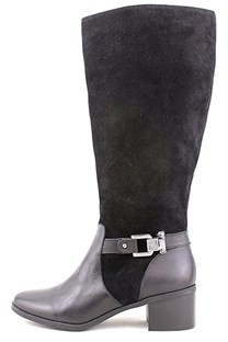 AK Anne Klein Women's Joettaw Suede Wide Calf Riding Boot.