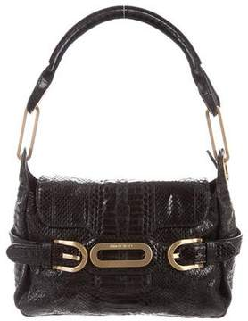 Jimmy Choo Small Snakeskin Tulita Bag