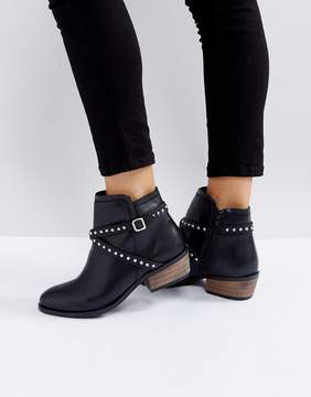 Carvela Heeled Stud Strap Boot