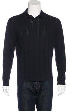 Cruciani Knit Polo Sweater w/ Tags