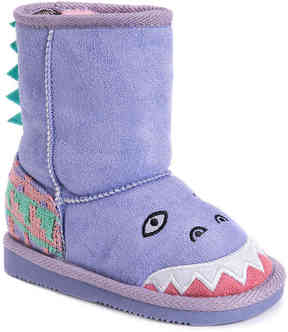Muk Luks Girls Cera Dinosaur Toddler Boot