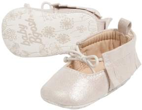 Osh Kosh Baby Girl Bow Moccasin Crib Shoes